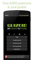 Screenshot of Quizoid (Trivia Quiz)