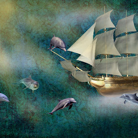 Dreaming by Ingrid Anderson-Riley - Digital Art Things