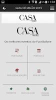 Screenshot of Casa Vogue Mobile