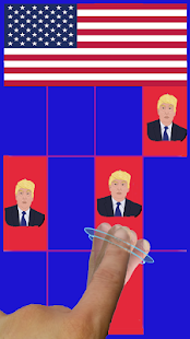 Piano Tile Trump - screenshot