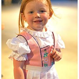 Adalai at Oktoberfest by Ginny Anderson - Babies & Children Children Candids ( child, oktoberfest, dirndle )