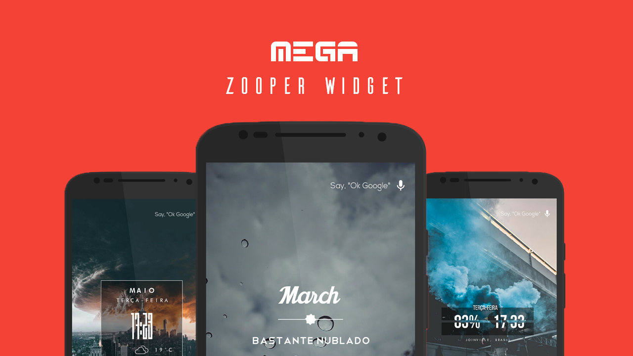 MEGA Zooper Widget Screenshot