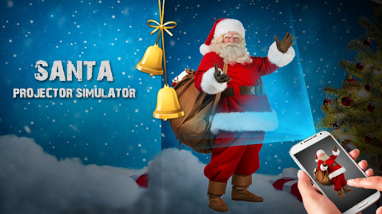 Santa Face Projector Simulator - screenshot