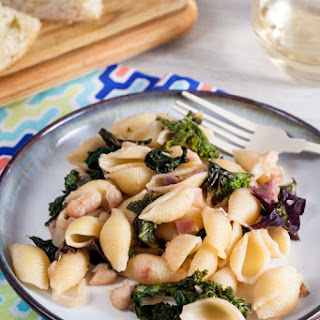 Beans and Greens Pasta
