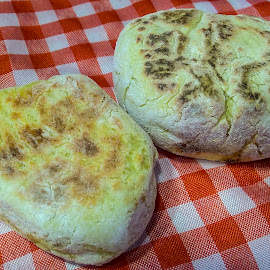 Homemade Caco bread by Rogerio Ribas - Food & Drink Cooking & Baking