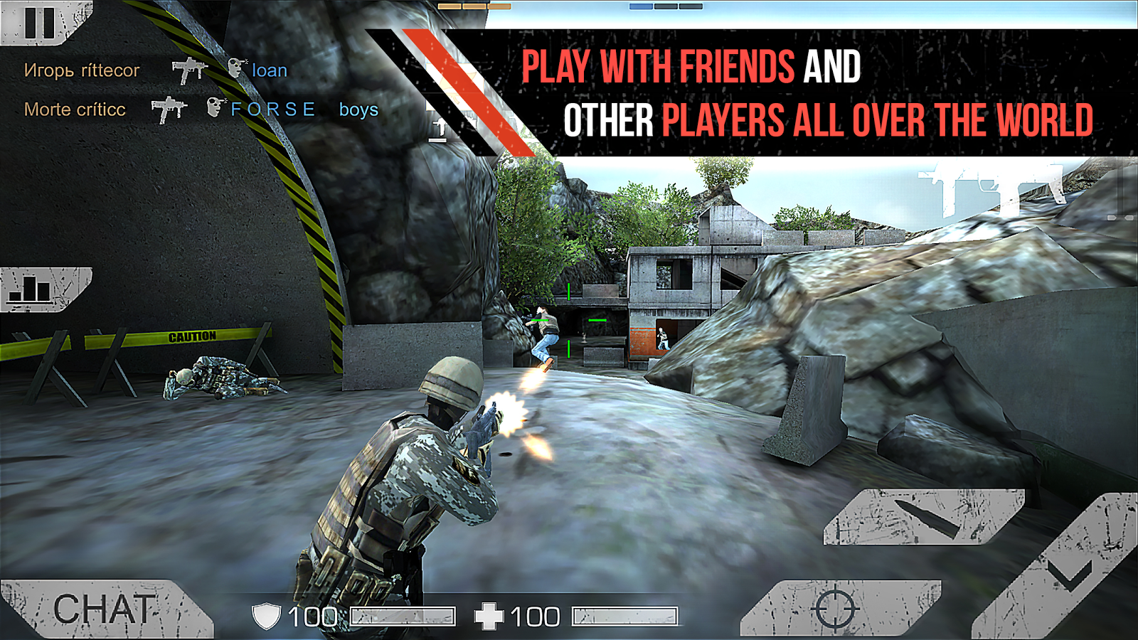 Standoff Multiplayer Screenshot