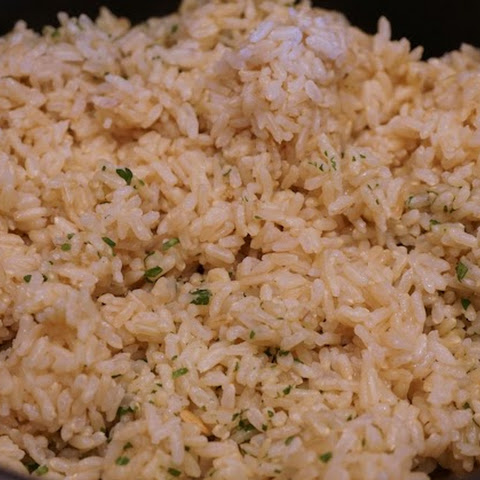 Oil-Free (Chipotle Copycat) Cilantro-Lime Rice