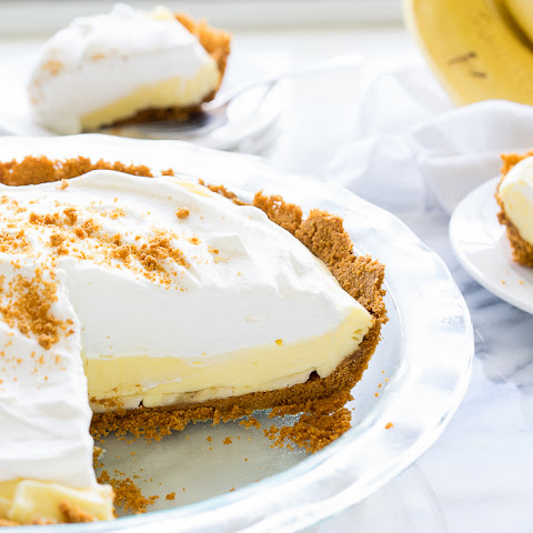 Biscoff Banana Cream Pie