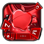 Red Cherry Blush Apple Keyboard Theme Icon
