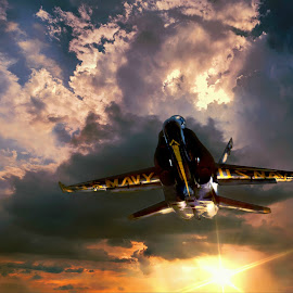 Flyby by DE Grabenstein - Transportation Airplanes