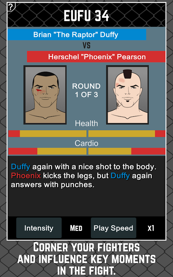 MMA Manager Screenshot 11