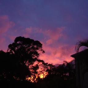 sun set  by Ashleigh Jane Schofield - Landscapes Sunsets & Sunrises