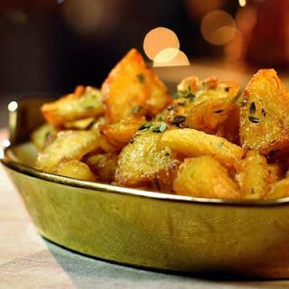 Thyme Lemon Roast Potatoes Recipes