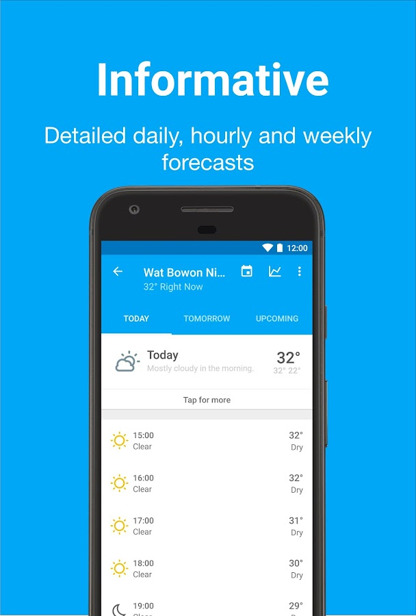 Forecast - Weather & Widgets Screenshot 2