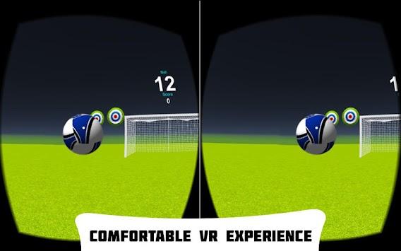 VR Soccer Header apk screenshot