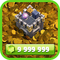 Gems and Gold for COC Prank
