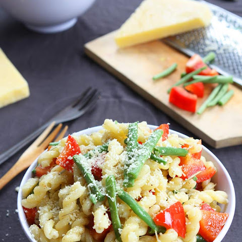 Rosemary Parmesan Vegetable Pasta