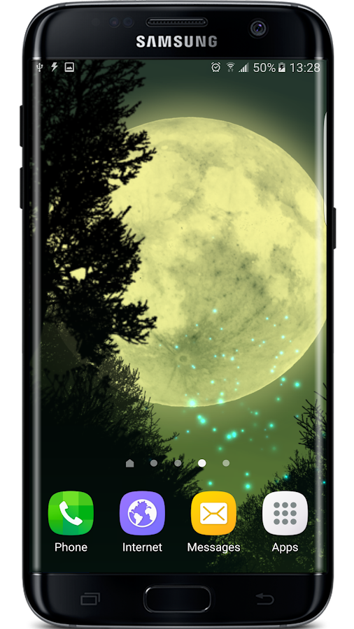Firefly Forest Live Wallpaper Screenshot 0
