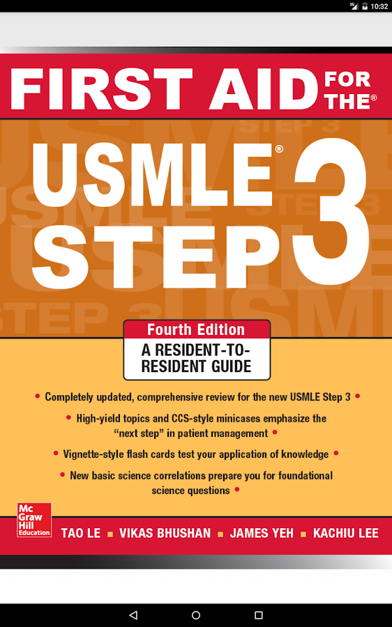 First Aid for USMLE Step 3 4/E Screenshot 8