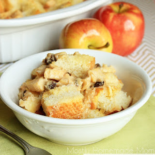 Raisin Apple French Toast Casserole