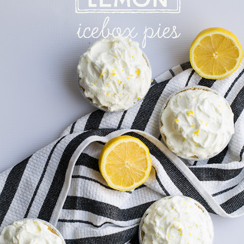 Mini Lemon Icebox Pies