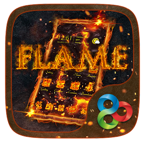 Flame GO Launcher Theme
