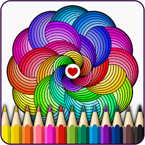 Mandalas coloring pages For PC