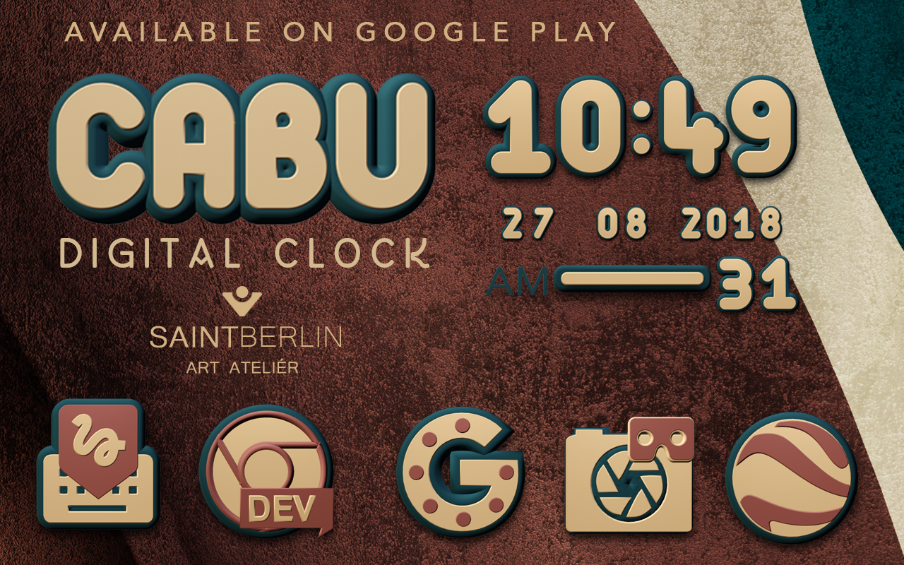 Cabu Clock Widget Screenshot 5