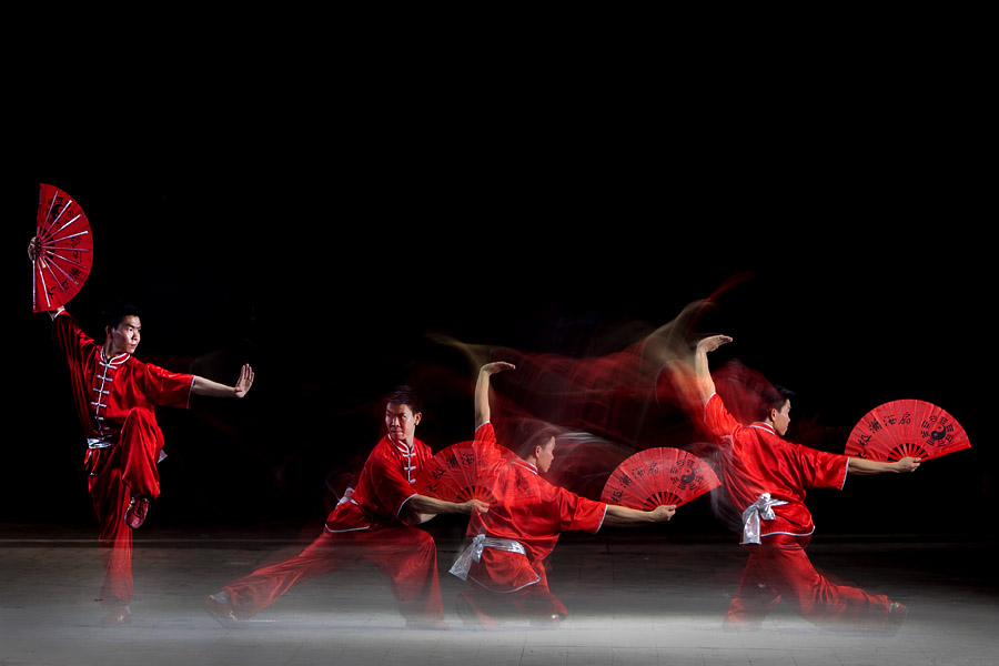 Red Wushu by Jeffry Surianto - Sports & Fitness Other Sports