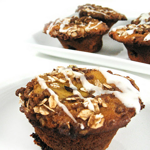 Fabulous, Skinny Lemon Blueberry Coffee Cake Muffins