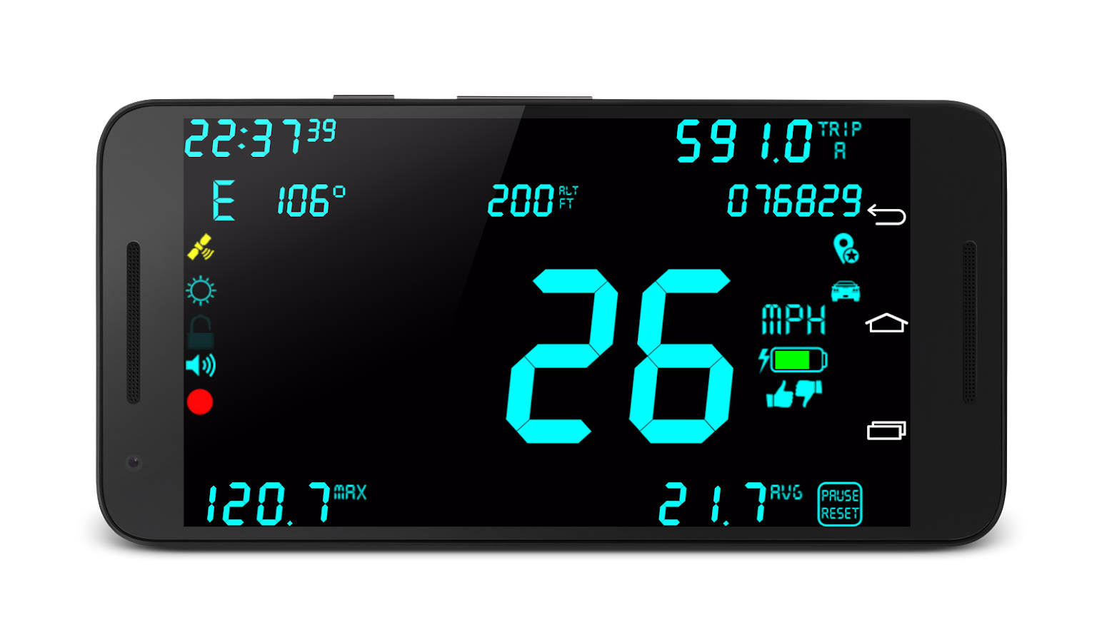 DigiHUD Pro Speedometer Screenshot 0
