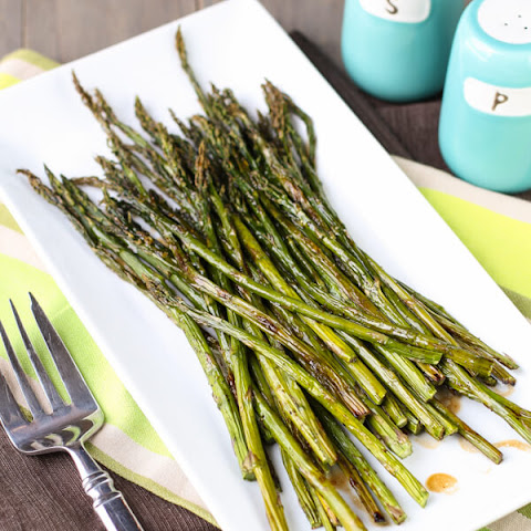 Balsamic Brown Butter Asparagus
