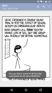 xkcd - because it's there - screenshot