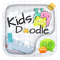 App (FREE) GO SMS KID DOODLE THEME apk for kindle fire