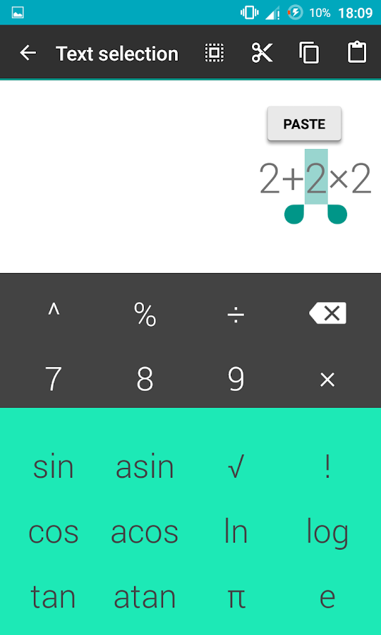 Simple culculator Screenshot 3