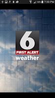Screenshot of FOX6 WBRC StormWarn Center
