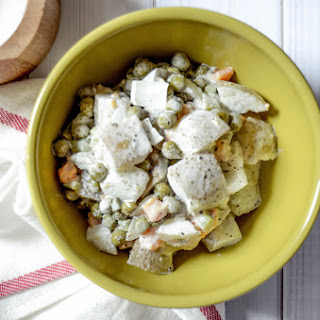 Salad Olivier (russian Potato Salad)