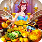 Download Princess Gold Coin Party Dozer APK to PC