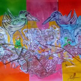 Favole di corteggiamento!! by Adrian Chiriac - Painting All Painting
