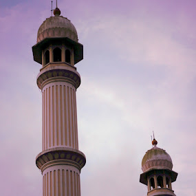 Standing Tall. by Gokul Rajenan - Buildings & Architecture Places of Worship ( #building #sky )