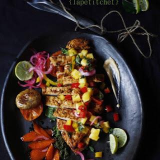 Chicken Tacos Mango Recipes