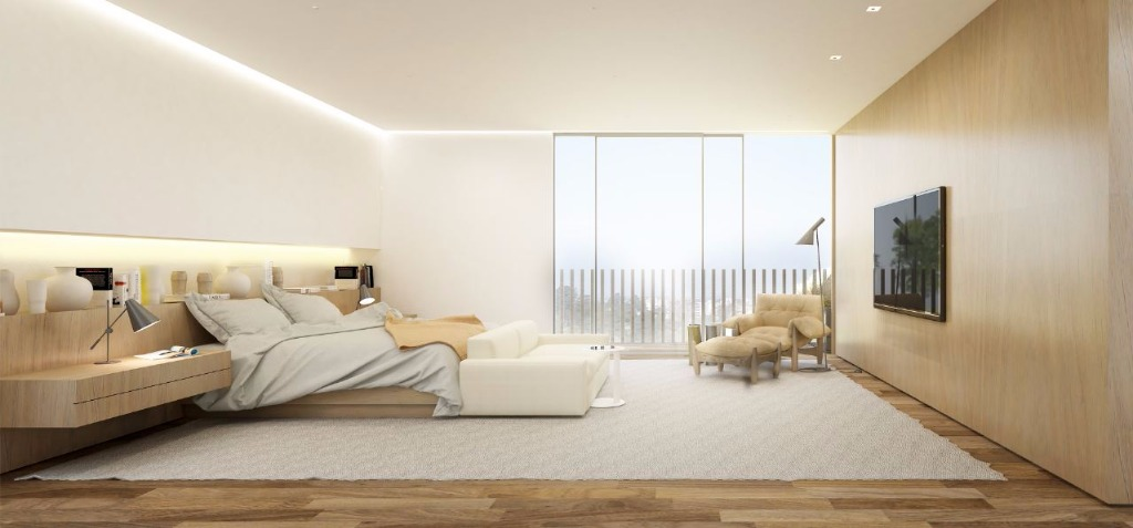 Perspectiva da Suíte Máster - 549 m²