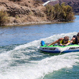 Tubing by Darlene Moyer - Sports & Fitness Watersports