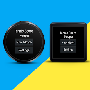 Tennis Score Keeper - Wear - screenshot
