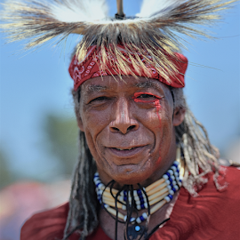 indian and his look by Dejan Gavrilovic - People Portraits of Men ( native indian,  )