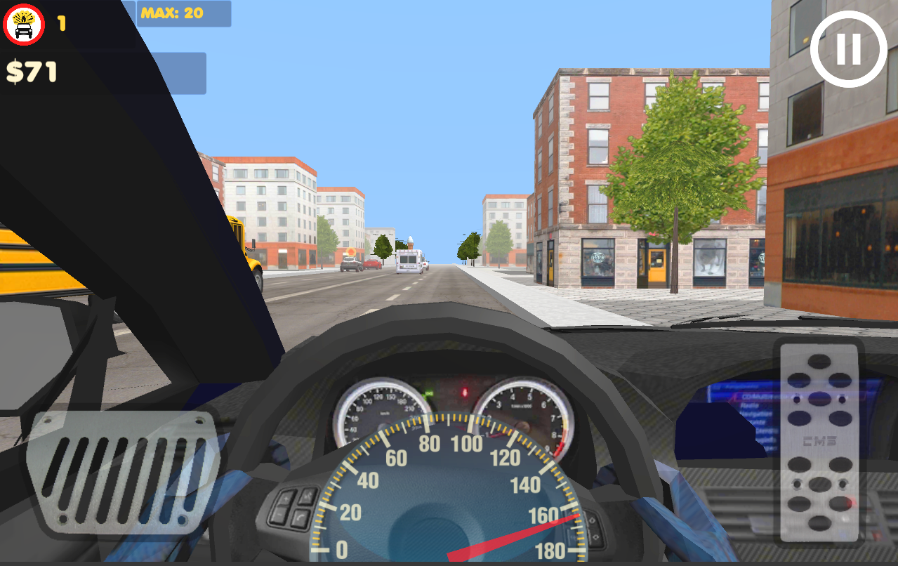 In Car Police Screenshot 3