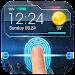 fingerprint style lock screen for prank Icon