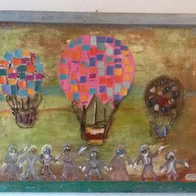 Monogolfiera by Adrian Chiriac - Painting All Painting