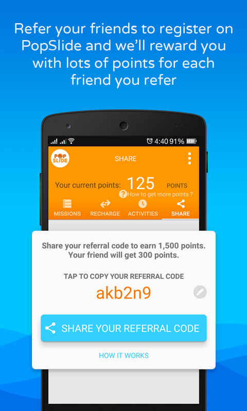 PopSlide:Earn Prepaid Recharge Screenshot 3
