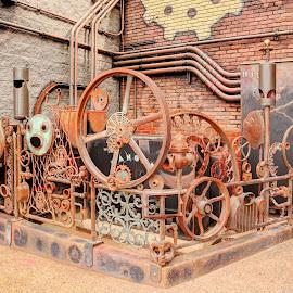 Steam Punk Factory by Joe Machuta - Artistic Objects Still Life
